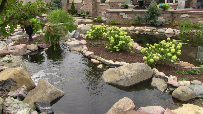 Installing a Water Feature